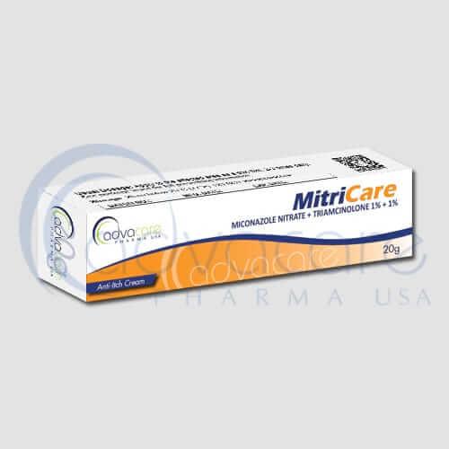 Crème de triamcinolone + nitrate de miconazole