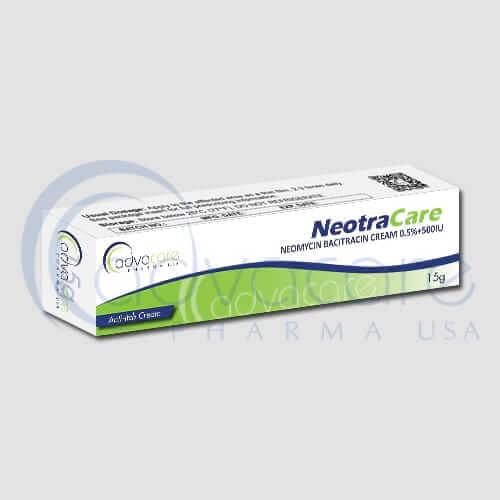 Crème de néomycine bacitracine