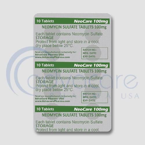 Neomycin Sulfate Tablets Manufacturer 3