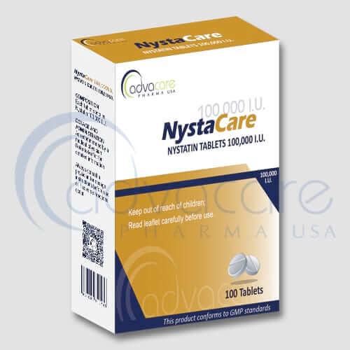 Tabletas de Nistatina