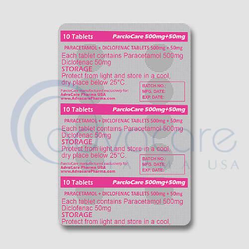 Paracetamol + Diclofenac Tablets Manufacturer 3