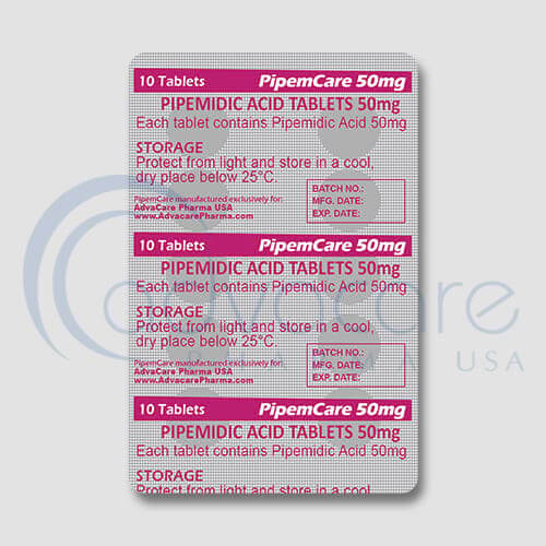 Pipemidic Acid Tablets Manufacturer 3