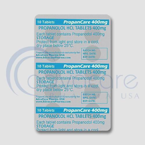 Propranolol HCL Tablets Manufacturer 3