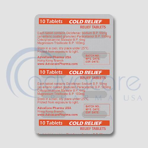 Relief Tablets Manufacturer 2