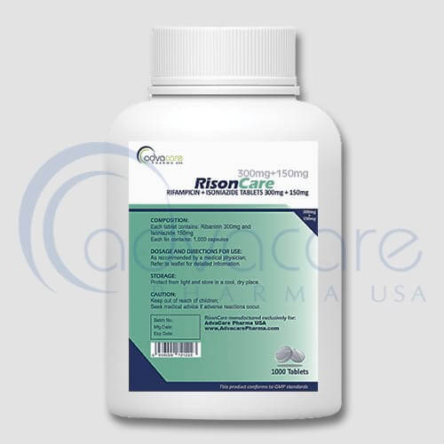 Rifampin + Isoniazid Tablets Manufacturer 2
