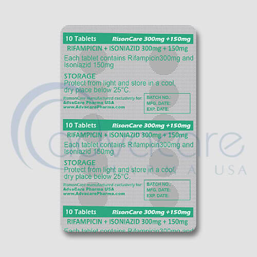 Rifampin + Isoniazid Tablets Manufacturer 3