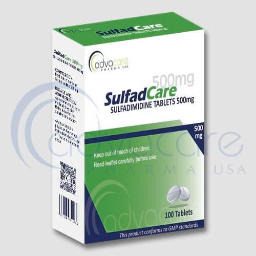 Tabletas de Sulfadimidina