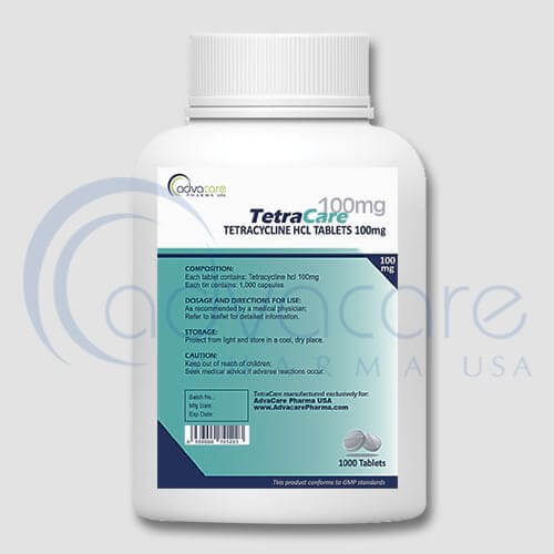 Tetracycline HCL Tablets Manufacturer 2