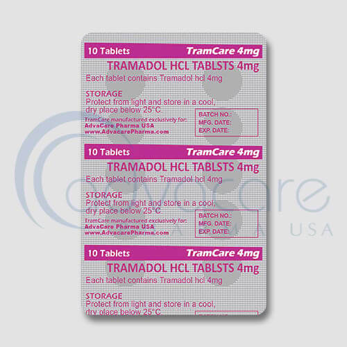 Tramadol HCL Tablets Blister