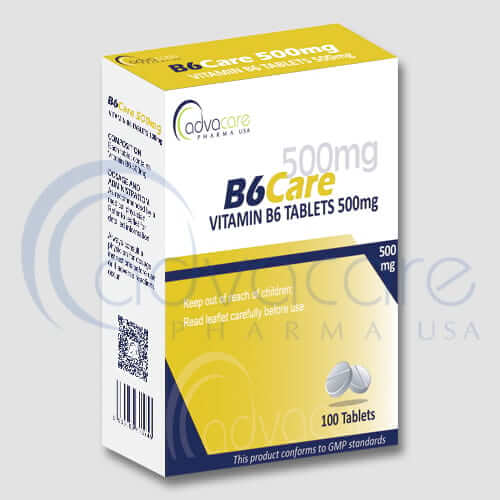 Vitamin B6 Tablets Manufacturer 1