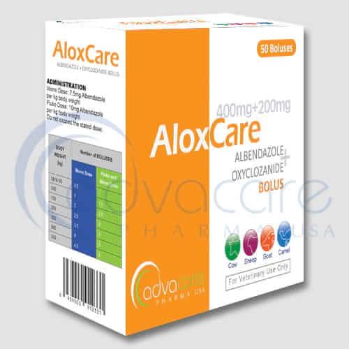 Albendazole + Oxyclozanide Boluses