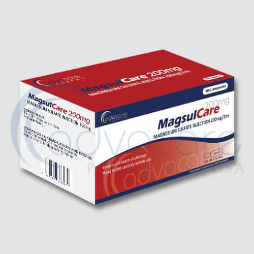 Magnesium Sulfate Injections Manufacturer 2