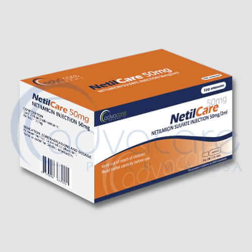 Netilmicin Sulfate Injections Manufacturer 2