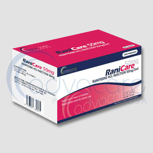 Ranitidine HCL Injection Manufacturer 2