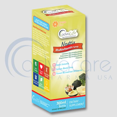 Neutrix Syrup Manufacturer 1
