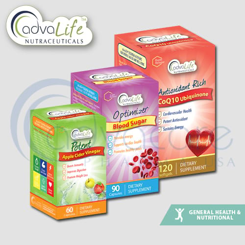 Coenzyme Q10 + vitamine E
