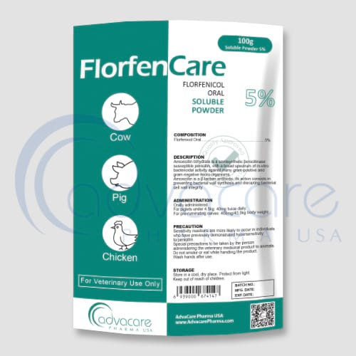 Florfenicol Oral Powders Manufacturer 1