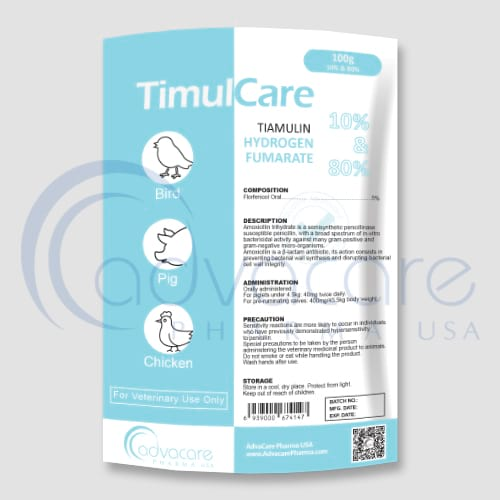 Tiamulin + Hydrogen Fumarate Feed Supplement