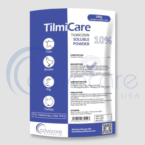 Tilmicosin Soluble Powder