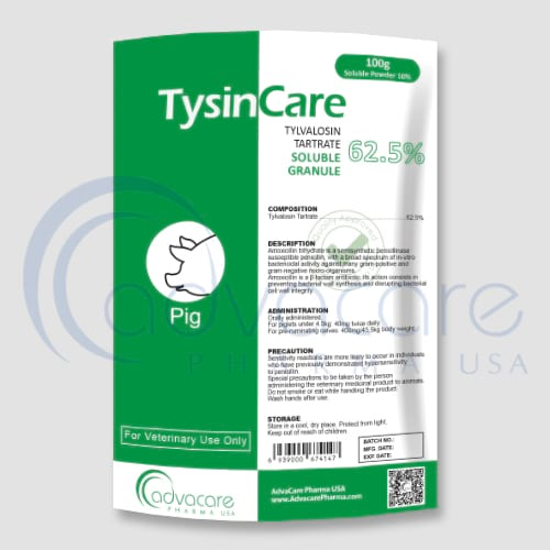 Tylvalosin Tartrate Soluble Granules Manufacturer 1