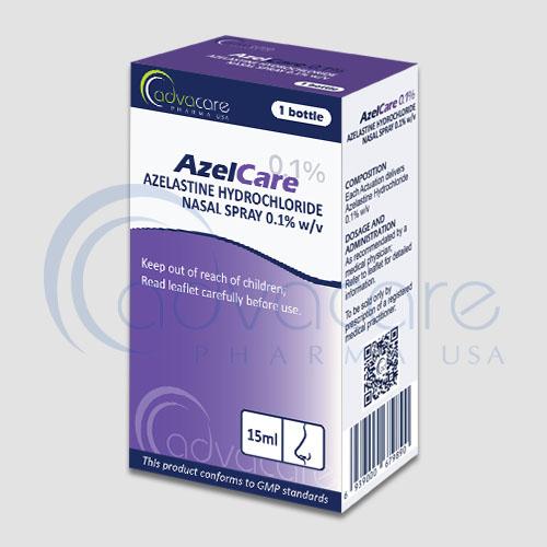Spray nasal azelastine HCL