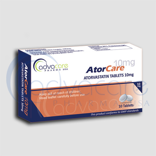 AdvaCare is a GMP manufacturer of Atorvastin Tablets