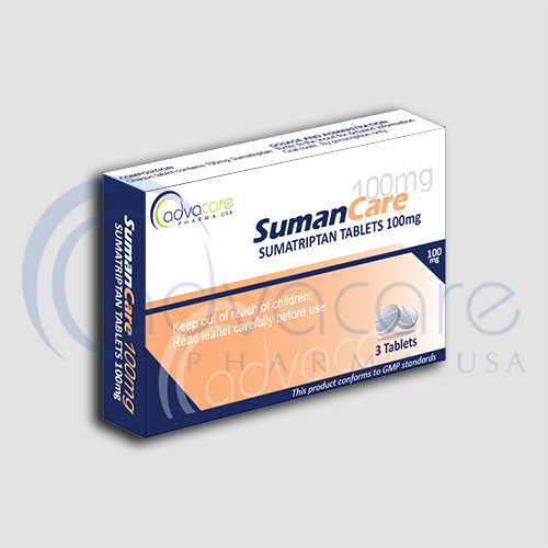 AdvaCare is a GMP Sumatriptan Tablets manufacturer