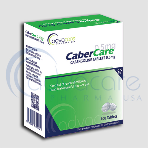 AdvaCare Pharma is a GMP manufacturer of Cabergoline Tablets