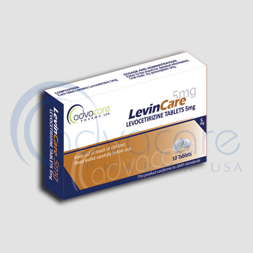 AdvaCare is a GMP Levocetirizine Tablets manufacturer