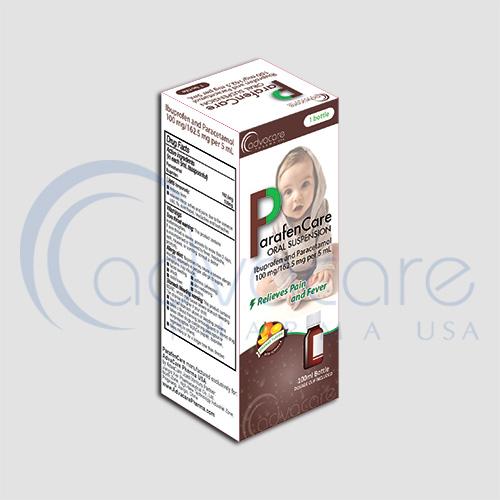 Ibuprofen + Paracetamol Oral Suspensions