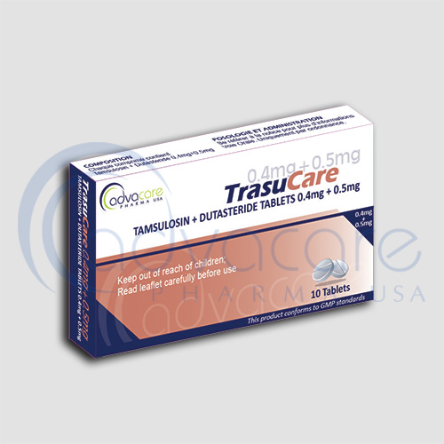 AdvaCare is a GMP Tamsulosin + Dutasteride Tablets manufacturer