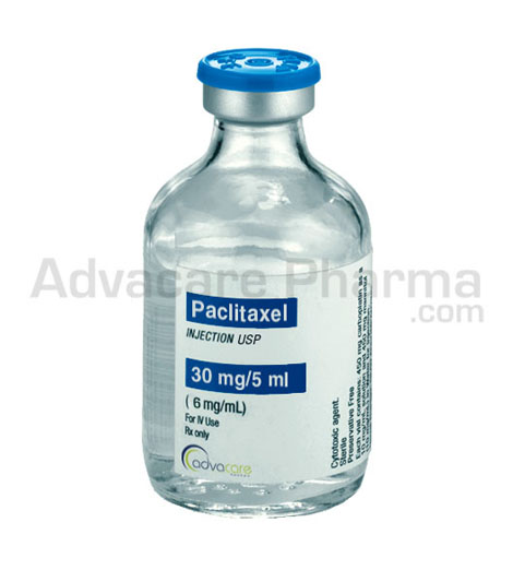 Injection de paclitaxel