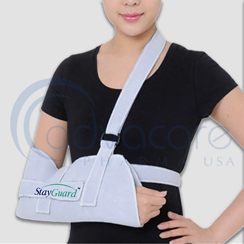 an enhanced type of AdvaCare Pharma USA StayGuard Skin and Wound Care Arm Sling