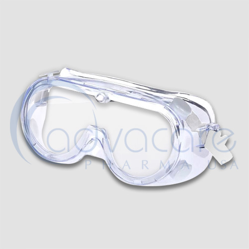 an AdvaCare pharma StaySafe Medical Wear Protective Goggles