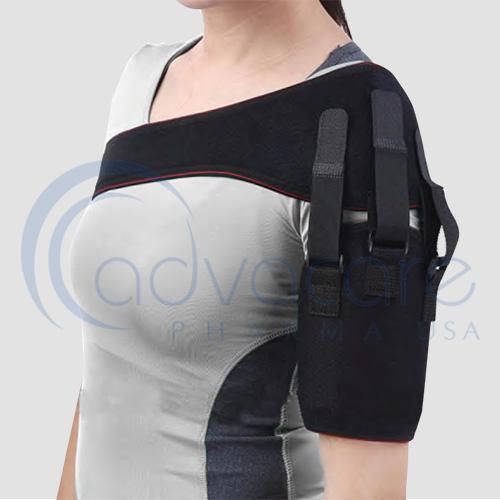 a left shoulder advacare pharma usa stayguard shoulder support brace