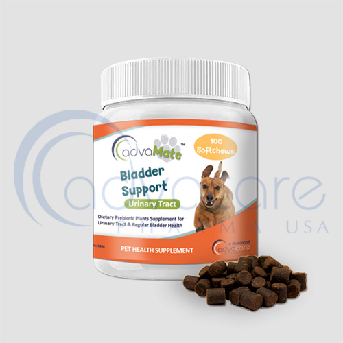 advacare pharma advamate bladder support pet supplement