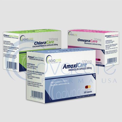 Pharmaceuticals capsules packaging