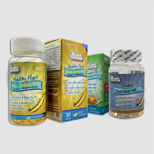 Essential fatty acid packaging